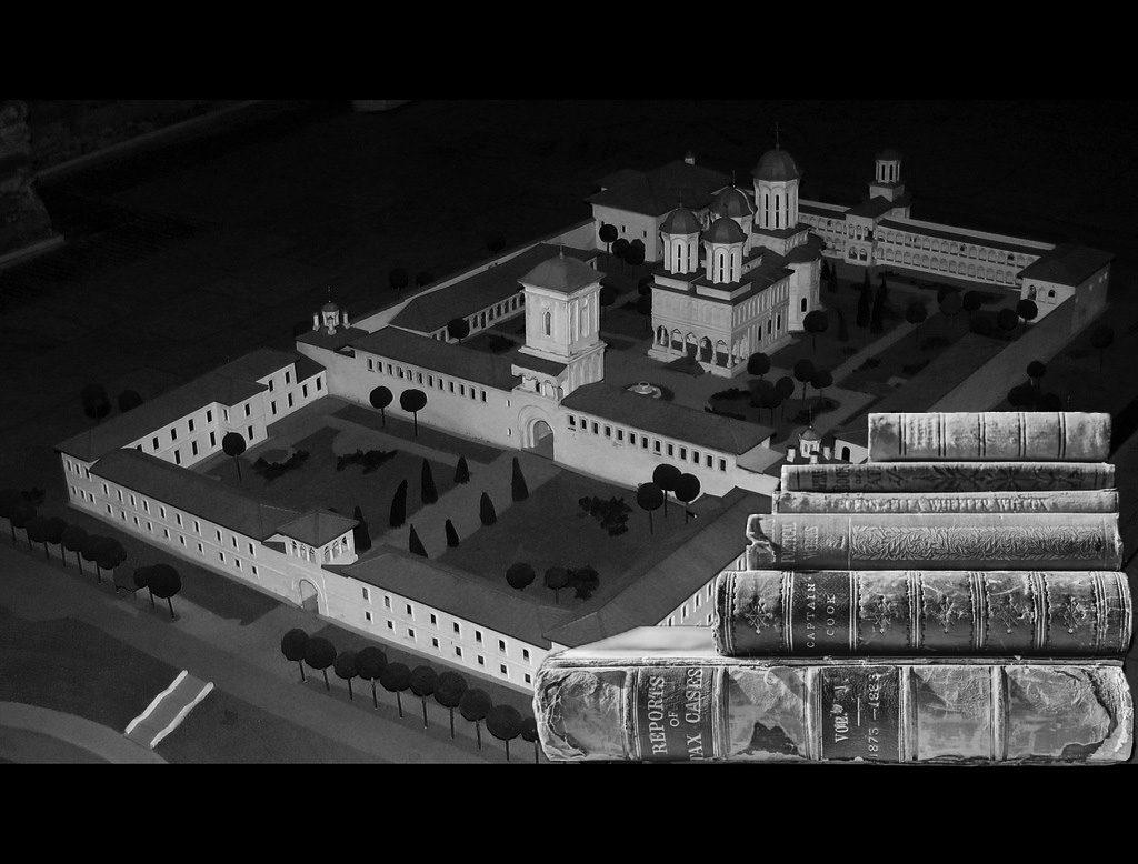 biblioteca Mănăstirii Văcărești