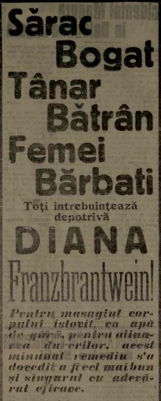 frecție Diana