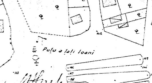 planul Borroczun puțul țații Ioani