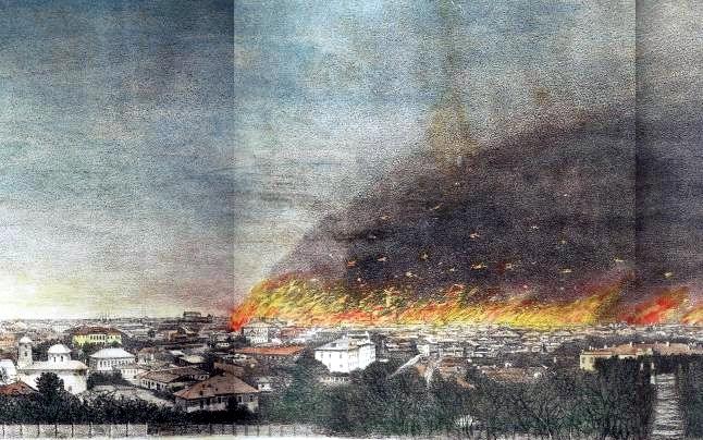 incendiu 1847 primul Senat al României