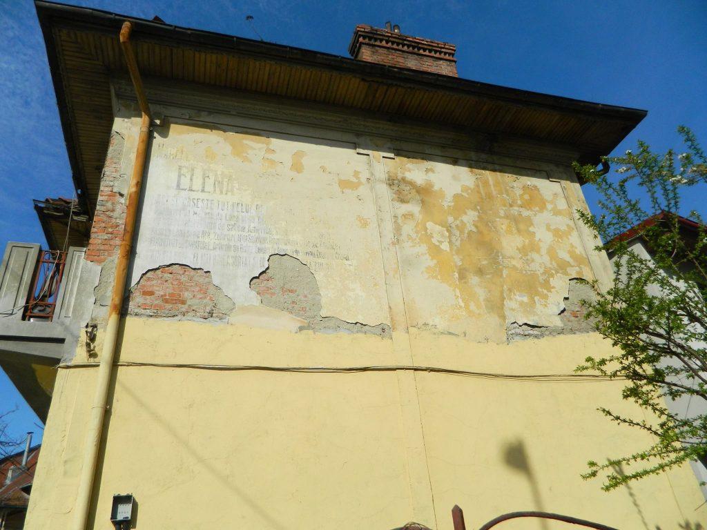 reclama interbelică fațadă casă Calea Șerban Vodă