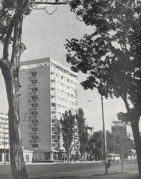 Bucureștiul în anul 1968 magistrala Nord-Sud