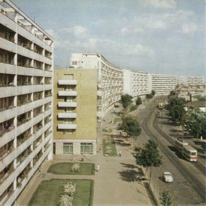 Bucureștiul în anul 1968 blocuri Ștefan cel Mare