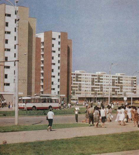 Bucureștiul în anul 1968 blocuri Drumul Taberei