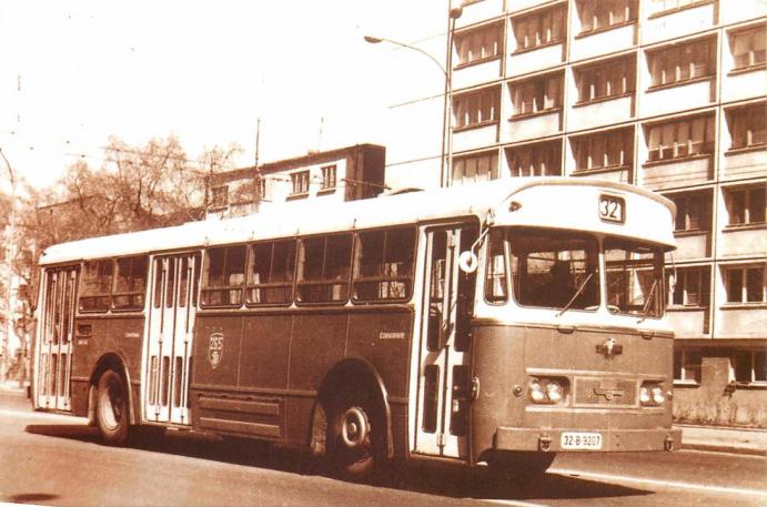 depoul Șerban-Vodă autobuz Leyland