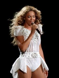 Beyonce a stat la Palatul Suter