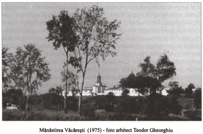 Mănăstirea Văcărești 1975