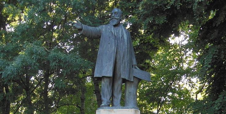 statuia Constantin Istrati