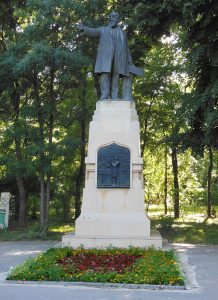 statuie Istrati Parcul Carol