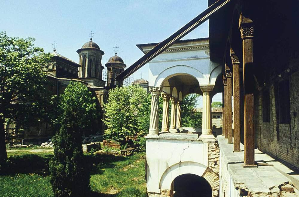 Casa Domnească Mănăstirea Văcărești Piața Sudului