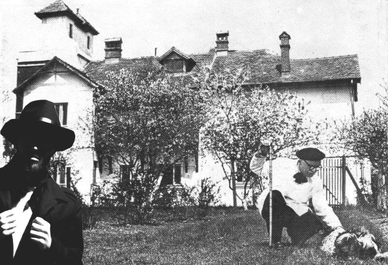 grădina lui Arghezi de la Mărțișor