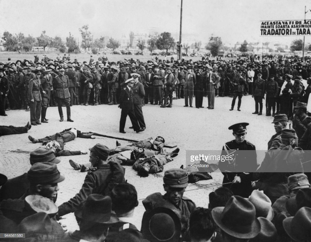 imagini inedite execuție București