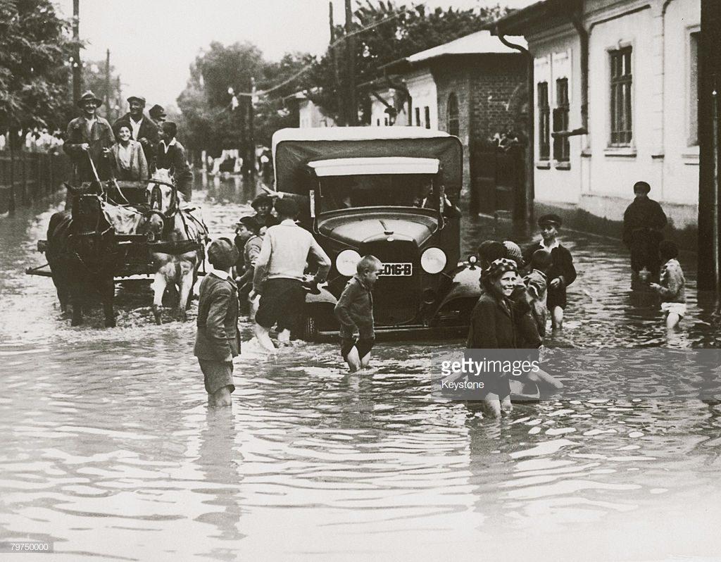 imagini inedite inundație București