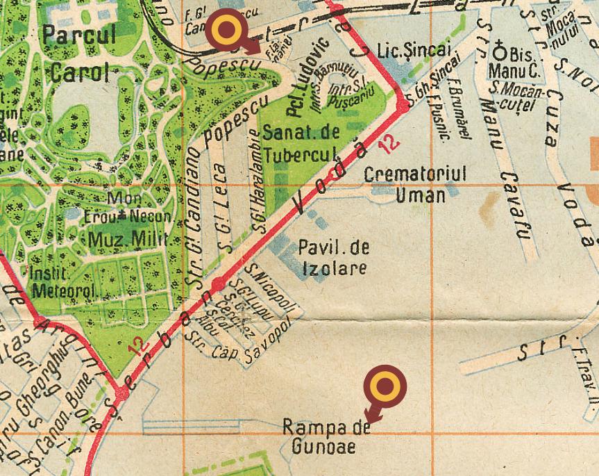 hartă căminul măturătorilor