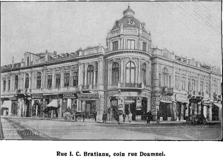 Frederic Dame strazi Bucuresti