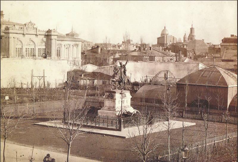 Franz Duschek București statuia Mihai Viteazul