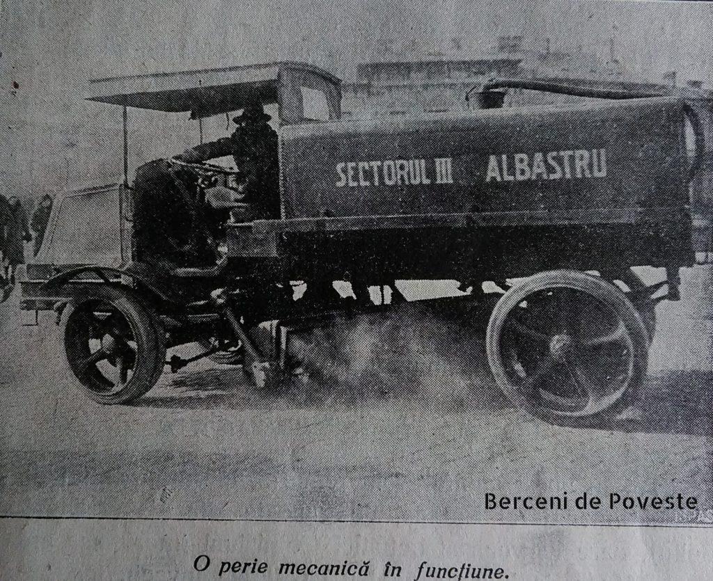 perie mecanică măturători București